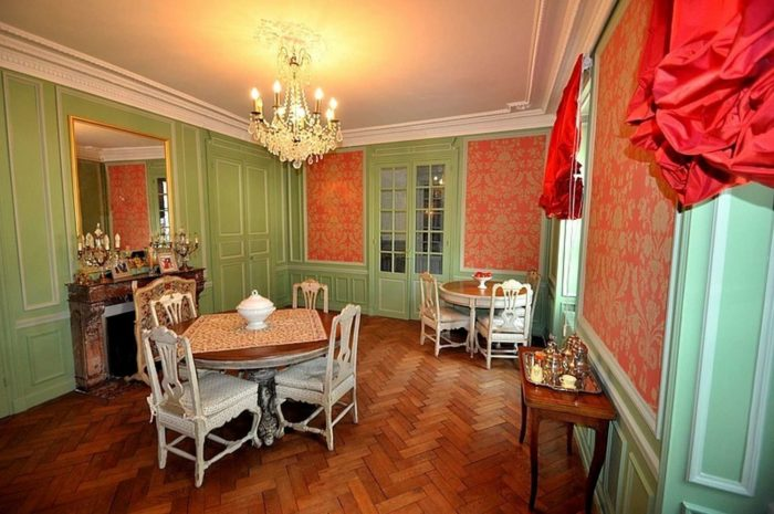 Hotel-Particulier-La-Gobine_Yonne_Joigny_chambre-hote_Salle-a-manger-baroque-italien