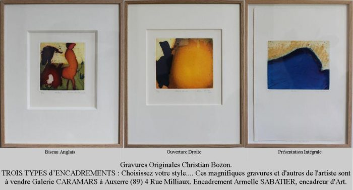 christian bozon trois types