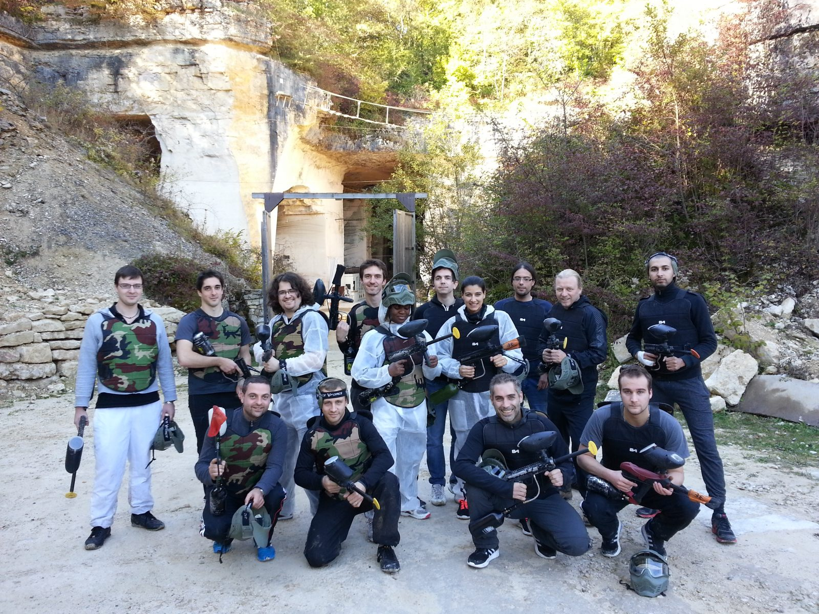 La Grotte de Champ Retard – Paintball